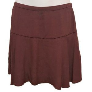 Aritzia SUNDAY BEST Rust Zelda Mini Skirt